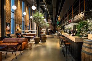 En restaurang eller annat matställe på The Winery Hotel Best Western Premier Collection
