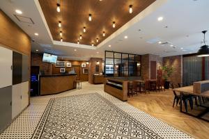 The lobby or reception area at Sotetsu Fresa Inn Nihombashi Kayabacho