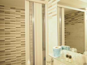 Ванная комната в Hotel Santa Croce