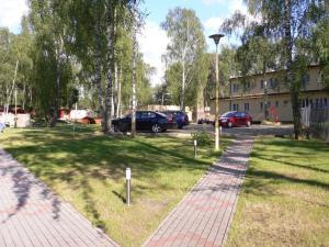 A garden outside Fala1 Ośrodek Wypoczynkowy