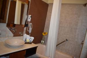 A bathroom at Royal Inn Hotel Puno