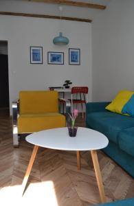 Posedenie v ubytovaní Historical apartments V18