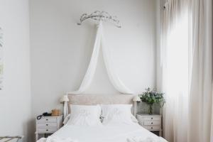 Cama o camas de una habitación en Palacio De Los Navas
