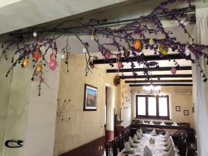 A restaurant or other place to eat at Agriturismo Mammarella