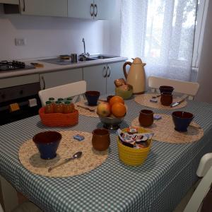 Cucina o angolo cottura di Il Ciliegio del Pellegrino
