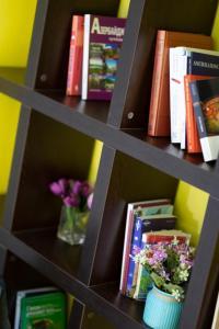 Biblioteca no hostel