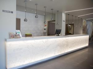 The lobby or reception area at Mafra Hotel