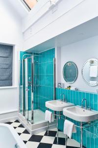 A bathroom at ABode Manchester