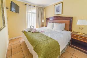Aparthotel Serena Dreamにあるベッド