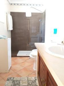 A bathroom at Casa do Poco