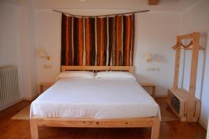 Cama o camas de una habitación en Posada Hoyos de Iregua