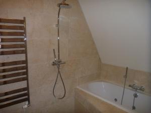 Salle de bains dans l'établissement Hotelsuites Ambrosijn