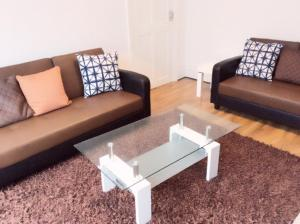 A seating area at 96 Rochester Street