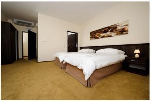 Posteľ alebo postele v izbe v ubytovaní Hotel Mariana Gaborika