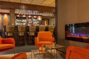 De lounge of bar bij New West Inn Amsterdam
