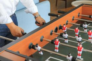 The fitness center and/or fitness facilities at Sun Dialogue Hotel-By Cosmos Creation