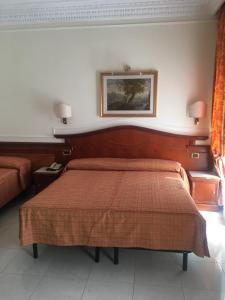 Кровать или кровати в номере Hotel Hiberia
