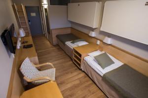 Säng eller sängar i ett rum på Yyteri Spa Hotel