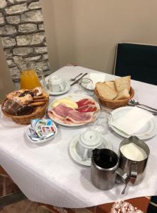 Opciones de desayuno disponibles en Hostal Salones Victoria