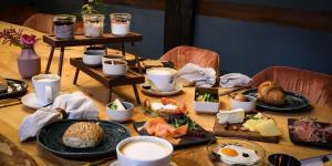 Frühstücksoptionen für Gäste der Unterkunft Meinsbur Boutique Hotel