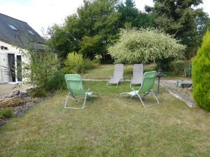 A garden outside Le Petit Verger