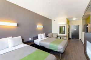 Krevet ili kreveti u jedinici u objektu Motel 6 Austin Airport