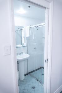 A bathroom at Great Southern Hotel Sydney