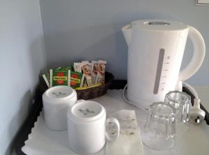 Coffee and tea making facilities at City West Motel