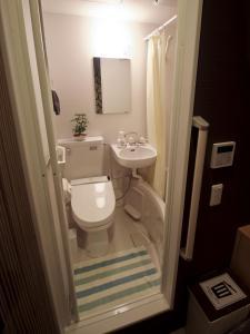 A bathroom at Hostel Kyoto Arashiyama