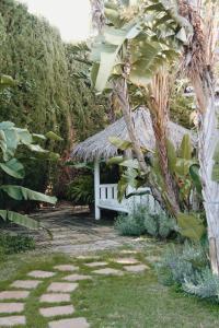 Jardín al aire libre en Casa la Concha Boutique Hotel