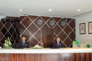 The lobby or reception area at Savoy Suites Hotel Apartment