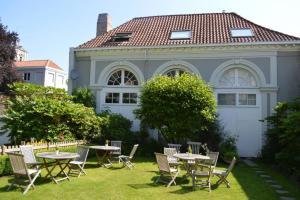 Een tuin van Hotel Patritius