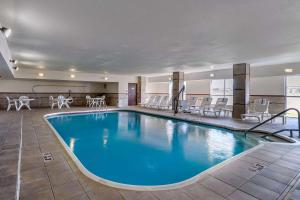 The swimming pool at or near Quality Suites Addison-Dallas