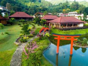 A bird's-eye view of The Onsen Hot Spring Resort