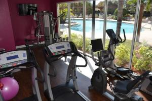 The fitness centre and/or fitness facilities at 3 bedroom villa - accommodate 8 guests