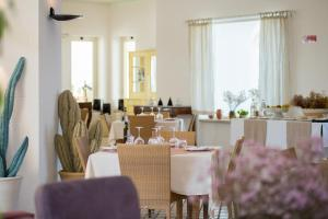 A restaurant or other place to eat at Approdo Boutique Hotel Leuca