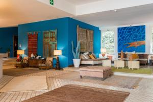 A seating area at Approdo Boutique Hotel Leuca