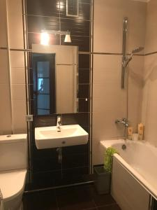 Ванная комната в Apartment on Nevskogo