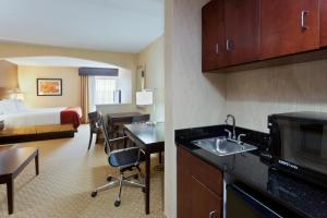 A kitchen or kitchenette at Holiday Inn Express Hotel & Suites Dover, an IHG Hotel