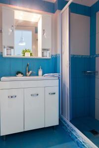 A bathroom at Calliope Corfu Apartments