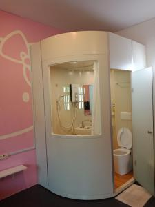 Ein Badezimmer in der Unterkunft Penang Old House Homestay