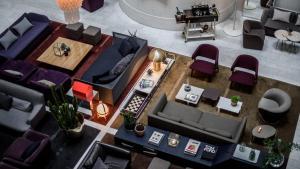 The floor plan of Nobis Hotel Stockholm, a Member of Design Hotels™