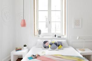 Un ou plusieurs lits dans un hébergement de l'établissement Away Hostel & Coffee Shop