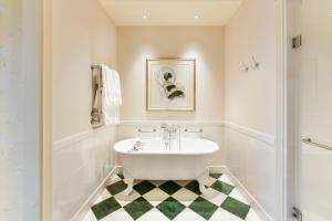 A bathroom at The Savoy