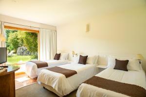 Una cama o camas en una habitación de Puerto Sur