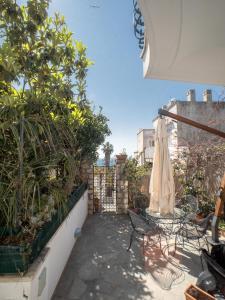 A balcony or terrace at Villa Silia