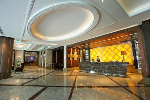 The lobby or reception area at Intimate Hotel Pattaya