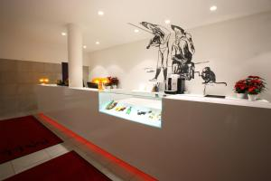 Lobby/Rezeption in der Unterkunft Art Hotel Pallas by Tartuhotels