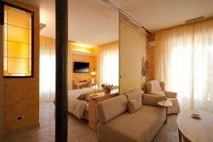 Area soggiorno di Hotel Jasmin