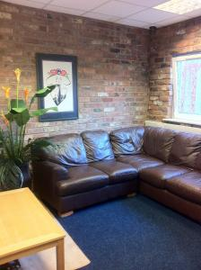 A seating area at Royal Chambers Liverpool